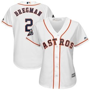 Women's Alex Bregman 2019 World Series Jersey